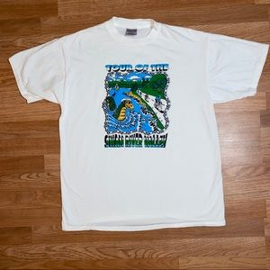 """🔹 Vtg 1994 """"Tour of the Swan River Valley"""" Tee"""